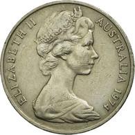 Monnaie, Australie, Elizabeth II, 20 Cents, 1974, TB+, Copper-nickel, KM:66 - Monnaie Décimale (1966-...)