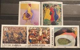 Yugoslavia, 1985, Mi: 2132/36 (MNH) - 1945-1992 Sozialistische Föderative Republik Jugoslawien