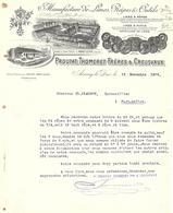 MANUFACTURE DE LIMES , RAPES & OUTILS / PROUTAT THOMERETFRERES & CREUSVAUX A ARNAY - LE - DUC ( Côte D( Or )  1909 - France