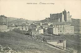 30 Portes Le Chateau Et Le Village - Frankreich