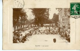 35. CPA 33 BLAYE. LE LAVOIR 1913 - Blaye