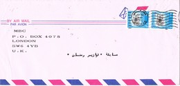 30904. Carta Aerea RIYADH (Arabia Saudita) To London, England - Arabia Saudita