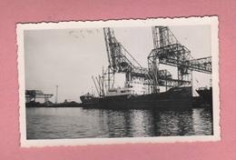 Nave Navir Schip Mayan Mercantile  Al Porto Foto Anni 40 O 50 Circa - Bateaux