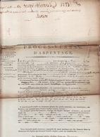 26 Mai 1810 Procès Verbal F'Arpentage De La Foret D'Encausse Quart En Reserve - Manuscrits