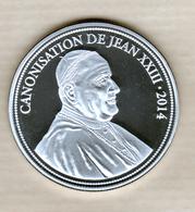 Medaille Canonisation De Jean XXIII - 2014 - Other