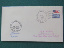 USA 1993 Cover From Ship MV American Condor In Mission In Somalia To Texas - Flag - Storia Postale