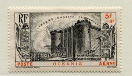 10363 OCEANIE   PA 2 **  5F+4F Noir  150éme Anniversaire De La Révolution     1939   TB/TTB - Oceania (1892-1958)
