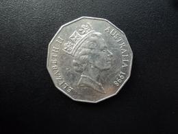 AUSTRALIE : 50 CENTS    1998    KM 364     SUP - Monnaie Décimale (1966-...)
