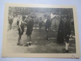 SCOUTISME - Photographie Originale  Scouts De France Groupe II è Douai  Troupe MANGIN  - TBE - Foto
