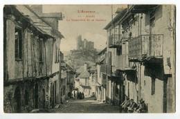 CPA 12 - L'Aveyron - Najac - La Grand'Rue Et Le Chateau - Najac