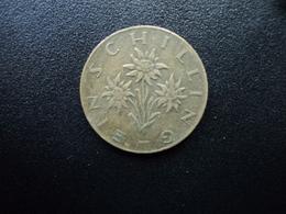 AUTRICHE : 1 SCHILLING   1959   KM 2886    TTB - Autriche