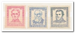 Brazilië 1952, Postfris MNH, 100 Years Of Telegraphy ( First Stamp Is MH, Eerste Zegels Heeft Een Plakker ) - Brazilië