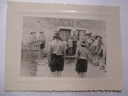 SCOUTISME - Photographie Originale  Scouts De France   District  Douai-Centre   - TBE - Foto