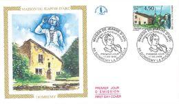 FDC Maison De Jeanne D'Arc (88 Domrémy La Pucelle 11/05/1996) - FDC