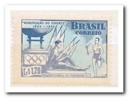 Brazilië 1952, Postfris MNH, Torch And Olympic Fire, 50 Years Footballclub Fluminense - Brazilië