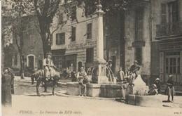 C. P. A. - VENCE  - LA FONTAINE - FABRIQUE DE TIGES - ANIMÉE - VNC 4 - EN 1900 - REPRODUCTION - Vence