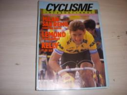CYCLISME INTERNATIONAL 014 04.1987 KELLY LEMOND MILAN SAN REMO SUISSE MAECHLER - Sport