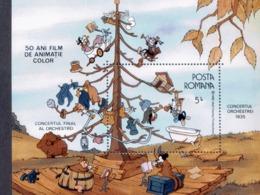 Rumänien Block 225 Zeichentrikfilme MNH  Postfrisch ** - Blocs-feuillets