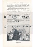 1925  Vins CHATEAU DURFORT VIVENS DELOR MARGAUX CHATEAU LASCOMBES Comte Du Bourg De Bozas Chaix D'est Ange à MARGAUX - 1900 – 1949