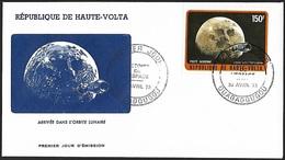 1973 - HAUTE-VOLTA - FDC + Y&T 138 (PA) + OUAGADOUGOU - Haute-Volta (1958-1984)