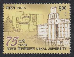INDIA 2018  75th Anniversary  UTKAL UNIVERSITY, Education 1v MNH(**), - India