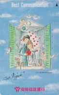 Télécarte Japon / 110-011 - PEINTURE FRANCE - PEYNET - Amoureux à La Fenêtre - Painting Japan Phonecard - 1767 - Peinture