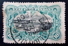 1895 Etat Indépendant Du Congo Yt 18 . Stanley Falls . Belle Oblitération ,used - 1894-1923 Mols: Gebraucht