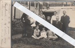 Hazebrouck ,( Dunkerque)souvenir De Guerre,le 16-10-1915 Notre Maison De Refuge,82 Rue De Thérouanne(1914-1918,réfugié - Guerra 1914-18