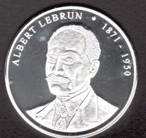 France, Médaille, Les Présidents De La République, Albert Lebrun - France