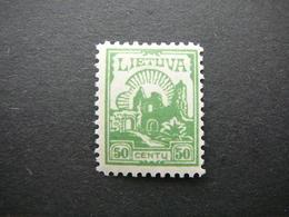 Lietuva Litauen Lituanie Litouwen Lithuania # 1923 MH # Mi. 191 - Lituanie