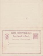 ENTIER POSTAL N°9B - Stamped Stationery
