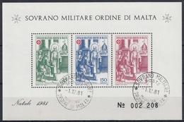 ORDEN DE MALTA 1981 Nº F202 USADO - Malta (la Orden De)