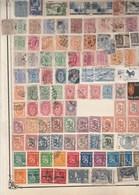 FINLANDE Lot Collection 1  Page De Timbres Anciens  - Tous états Non Triés - 2 SCAN Pour Montrer Toute La Page - Finlande