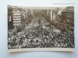 D162552 Ceskoslovensko - Czechoslovakia  -  Komunisticky 1 Máj 1947  V Praze  -Prag Praha Prague - República Checa