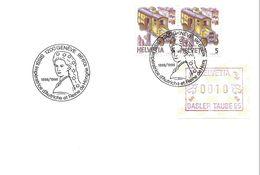 Schweiz Suisse 1998: Zu 731 Mi 1321 Yv 1250 & FRAMA Avec O GENÈVE SISSI Impératrice D'Autriche Reine De Hongrie 10.09.98 - Familias Reales