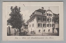 AK CH ZG Zug Haushaltsschule Sta Maria 1911-11-23 Foto J.Trachsler #4717 - ZG Zoug
