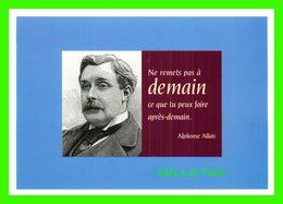 CÉLÉBRITÉS - ALPHONSE ALLAIS, 1854-1905 - ÉCRIVAIN - ÉDITIONS HAZAN EN 1997 - Ecrivains