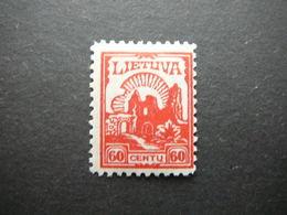 Lietuva Litauen Lituanie Litouwen Lithuania # 1923 MH # Mi. 192 - Lituanie
