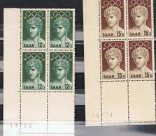 SAAR   371/72   XX  MNH - Saargebiet