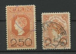 2G50 Sur 10 Gulden Orange  Cote 300,-euros - Period 1891-1948 (Wilhelmina)