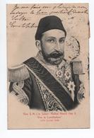 VIVE S. M. I. LE SULTAN ABDOUL HAMID HAN II - VIVE LA CONSTITUTION // AU DOS CàD BFE CONSTANTINOPLE LEVANT TYPE BLANC - Turkey