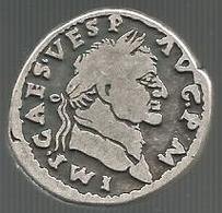 Roma, Cesare Vespasiano Augusto, Luglio/dicembre AD 71 Denario. Riproduzione, Restrike. - Imitazioni