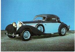 AUTOMOBILES : MERCEDES D.  Cabriolet Décapotable Type 540K 1937  8 Cylindres En Ligne - 5400 Cm3 - Compresseur - Voitures De Tourisme