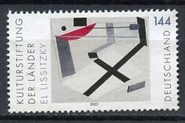 Allemagne Fédérale - Germany - Deutschland 2003 Y&T N°2136 - Michel N°2308 Nsg - 144c œuvre De El Lissitzky - Neufs