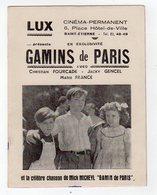 Dec18     83414    Buvard   Lux  Cinéma Permanent - Cinéma & Théatre
