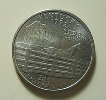USA 1/4 Dollar 2001 Kentucky - Émissions Fédérales