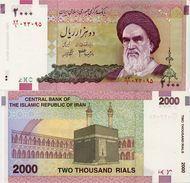 IRAN       2000 Rials       P-144a       ND (2005)       UNC - Iran