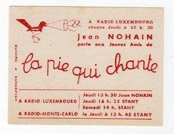 Dec18     83412    Buvard    Radio Luxembourg  Jean Nohain - Cine & Teatro