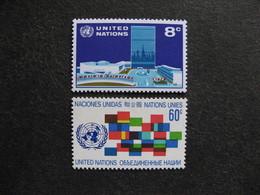 O.N.U. Siège De New-York: TB Paire N° 215 Et N° 216, Neufs XX - New York -  VN Hauptquartier