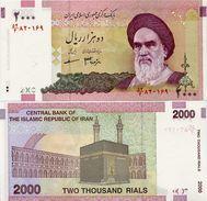 IRAN       2000 Rials       P-144b       ND (2008)       UNC - Iran